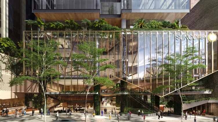 Sustainable office building in Australia
