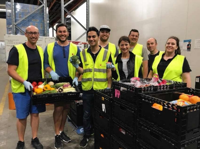 Our teams are passionate about volunteering. Our Victorian team is a regular at the Food Bank and our Sydney team recently worked at a women's shelter to improve the safety of the facility.